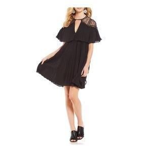 GIANNI BINI Black Lace Tunic/ Short Dress